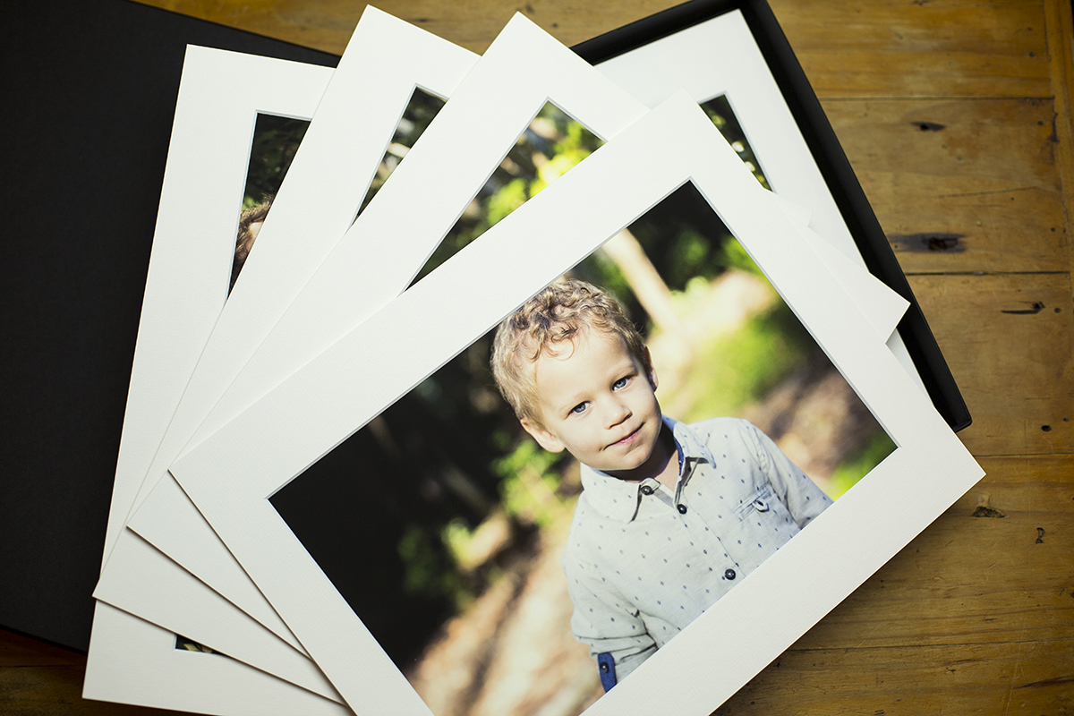 Example of image boxes I sell for portriat shoots